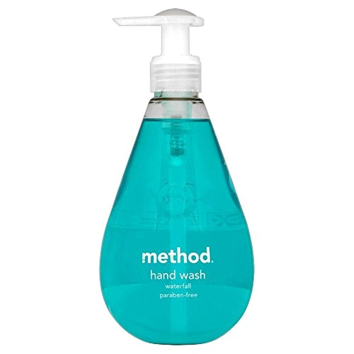 おなじみの工夫する百Method Hand Wash Waterfall (354ml) メソッドのハンドウォッシュ滝( 354ミリリットル) [並行輸入品]