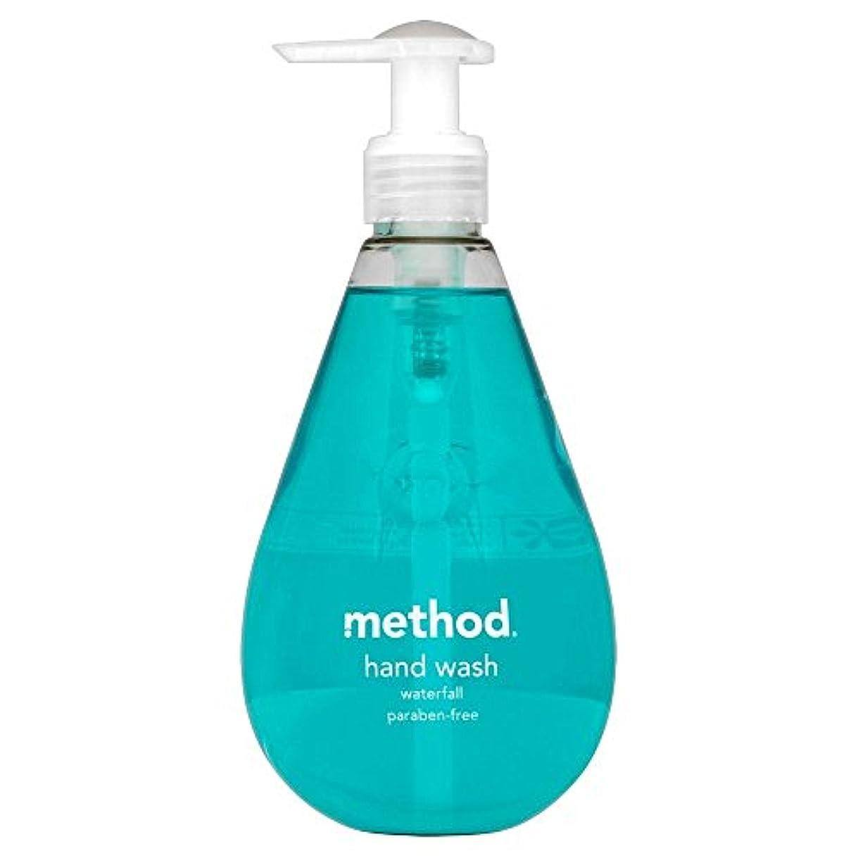 興奮芝生定数Method Hand Wash Waterfall (354ml) メソッドのハンドウォッシュ滝( 354ミリリットル) [並行輸入品]