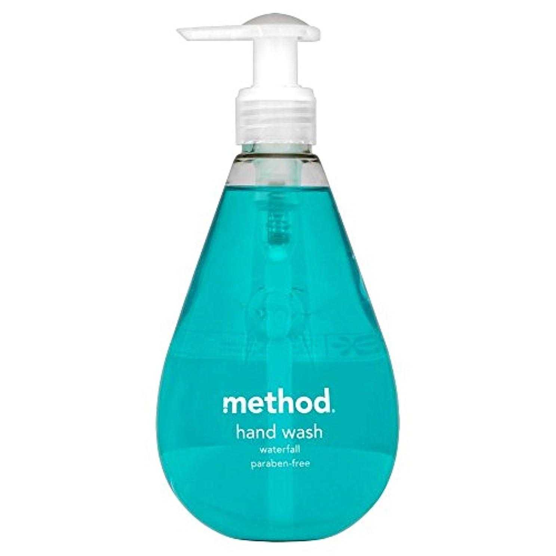 養う置き場逸脱Method Hand Wash Waterfall (354ml) メソッドのハンドウォッシュ滝( 354ミリリットル) [並行輸入品]