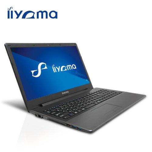 iiyama 15P1200-C-TGM-DG7P[Windows 7 Pro搭載]15.6型液晶ノートパソコン/Celeron/Windows8.1 Proダウングレードモデル ノートパソコン