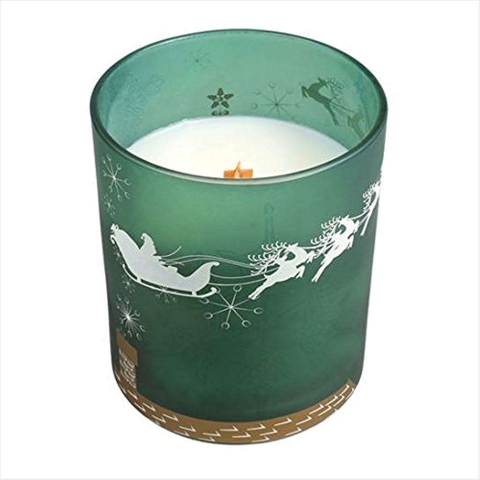 クリスマス印象肥満ウッドウィック( WoodWick ) Wood Wickディーカルグラスジャー 「 フレイザーファ- 」