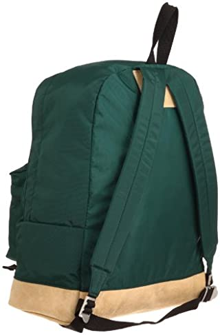 Leather Bottom Day Pack OD11-001: Green