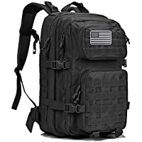 G4Free Military Tactical Fishing Bug Out Bag Backpack Large Army 3 Day Assault Pack Molle Rucksacks for Outdoor Hiking Camping Trekking Hunting