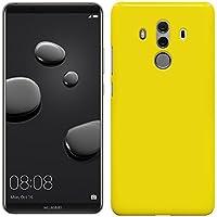 ファーウェイ メイトテン プロ ケース HUAWEI Mate 10 Pro ケース SIMフリーハードケース カバースマホケース 液晶保護フィルム付 全機種対応 [Yellow] [MATE10P]「Breeze-正規品」