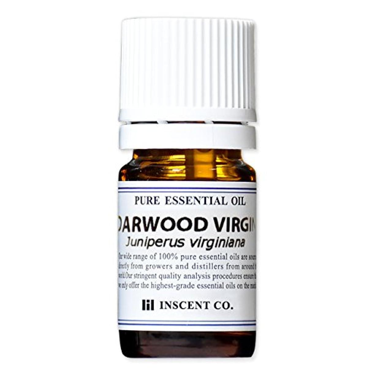 ハーネス致命的な満たすシダーウッド?バージニア 5ml インセント アロマオイル AEAJ 表示基準適合認定精油