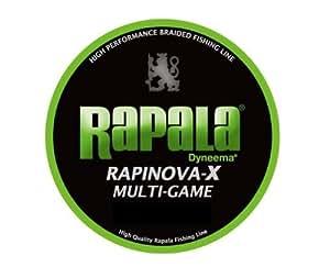 Rapala(ラパラ) ライン ラピノヴァX マルチゲーム 3.0号 39.6lb 200m ライムグリーン