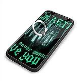 Never Gonna Give You Up - Rick Astley リック?アストリー IPhone8 ケース IPhone7 ケース アイフォン7/8 TPU カバー リングブラケット付き付き 強化ガラス背面 スマホケース 耐衝撃ケース