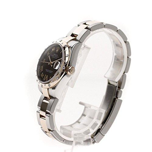 ROLEX(ロレックス) 178341 VIダイヤモンド ローマン デイトジャスト 腕時計 ステンレス/K18PG ボーイズ (中古)