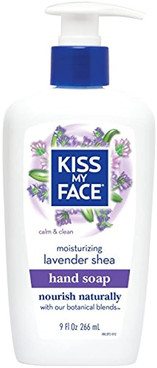 農業回復スパイラル海外直送品Moisture Soap Liquid, Lavender Shea Butter 9 oz by Kiss My Face