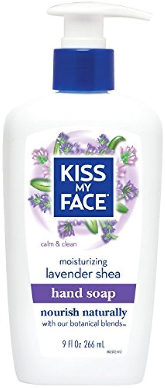 スリット米国アサー海外直送品Moisture Soap Liquid, Lavender Shea Butter 9 oz by Kiss My Face
