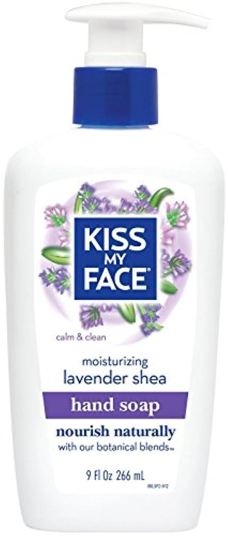 アラビア語パキスタンバット海外直送品Moisture Soap Liquid, Lavender Shea Butter 9 oz by Kiss My Face