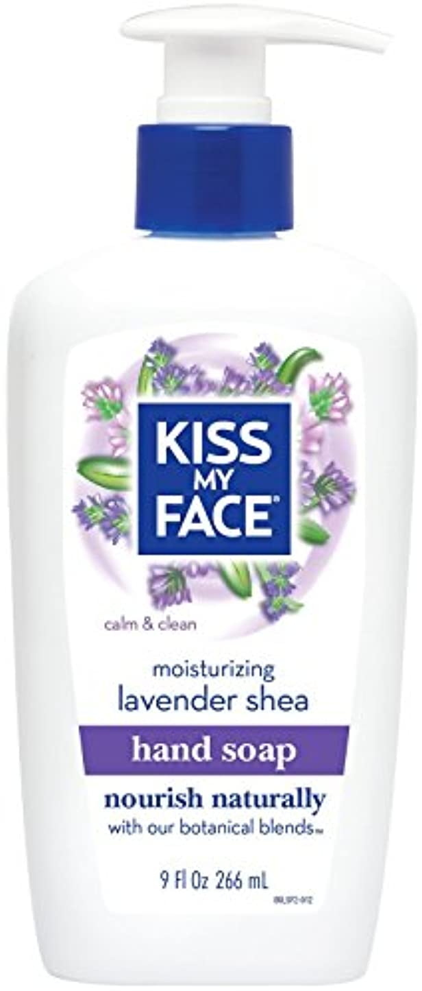準備した近々ブッシュ海外直送品Moisture Soap Liquid, Lavender Shea Butter 9 oz by Kiss My Face