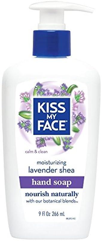 狂信者引数パッド海外直送品Moisture Soap Liquid, Lavender Shea Butter 9 oz by Kiss My Face