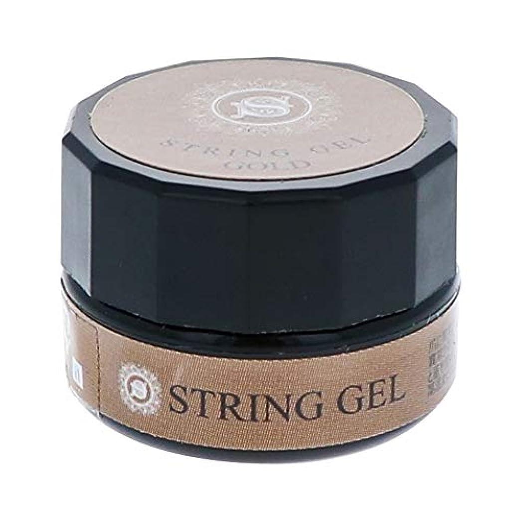 ミンチスプレー火炎ビューティーネイラー simply string gel (gold) 2.5g QSG-1 ジェルネイル