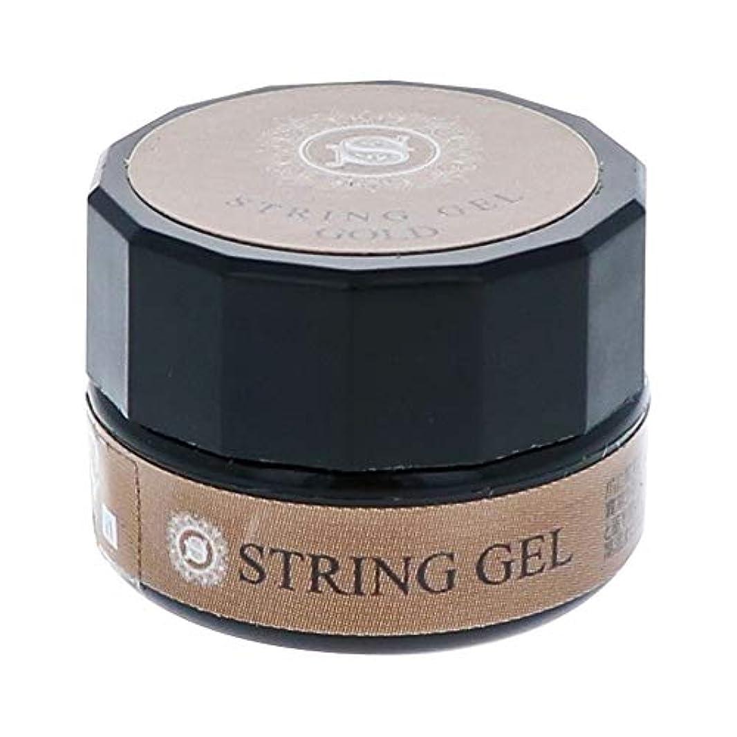 詩人監督する意見ビューティーネイラー simply string gel (gold) 2.5g QSG-1 ジェルネイル