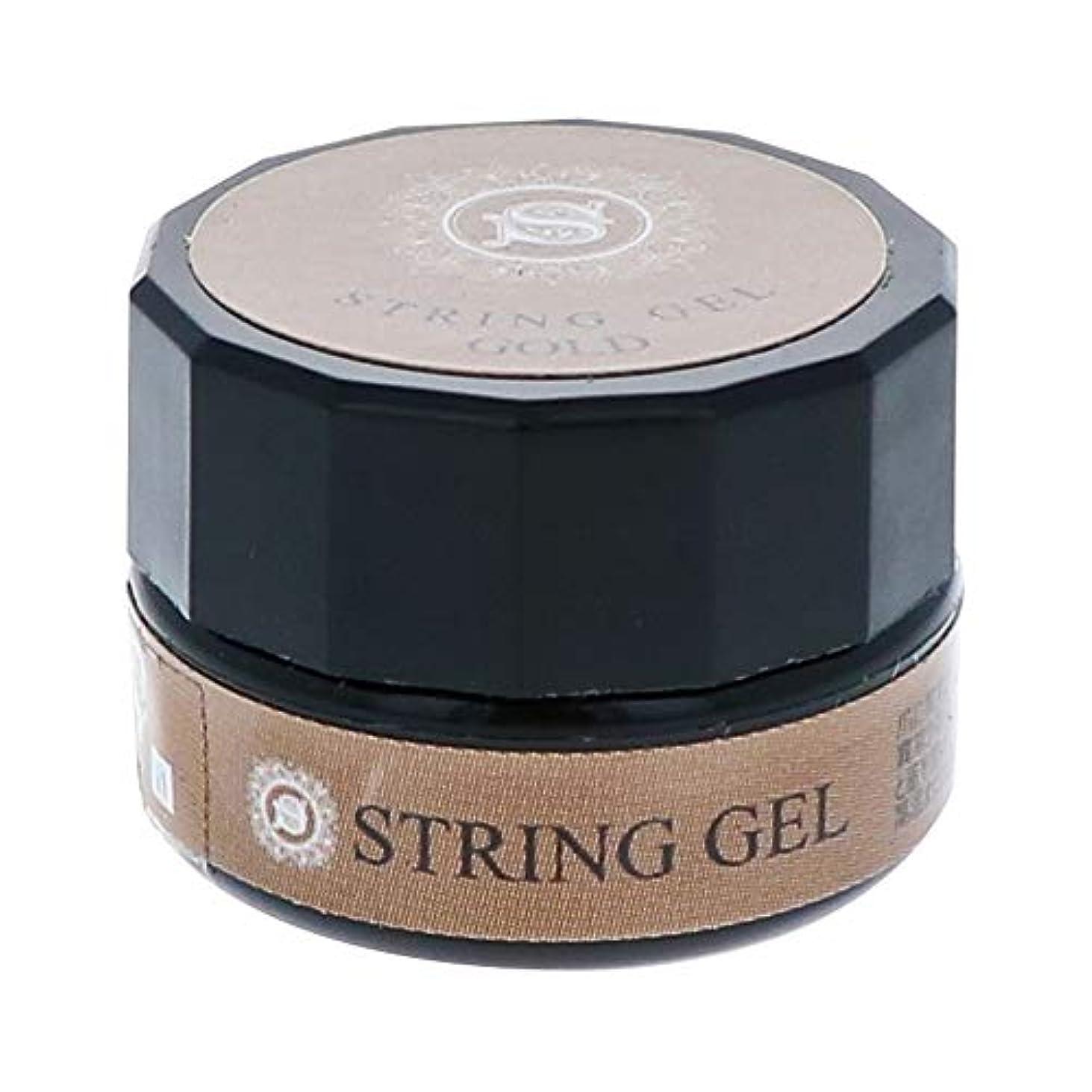 ラショナルやる些細ビューティーネイラー simply string gel (gold) 2.5g QSG-1 ジェルネイル