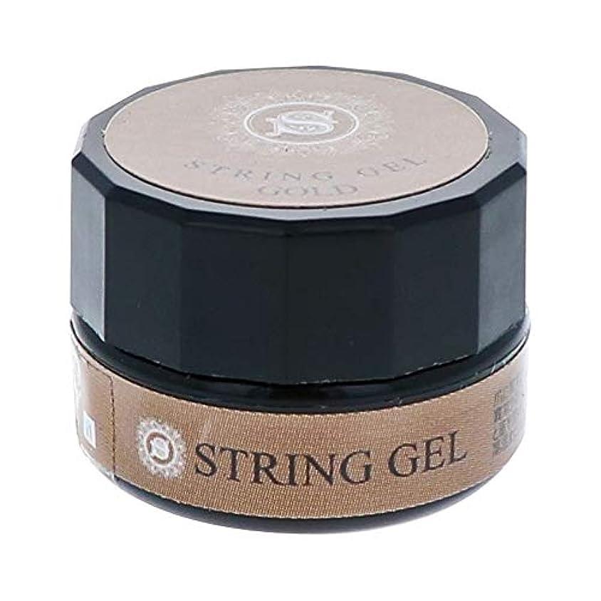 氷思いやり離れたビューティーネイラー simply string gel (gold) 2.5g QSG-1