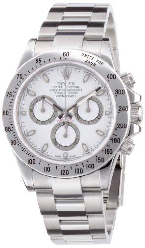 デイトナ ホワイト文字盤 クロノグラフ SS 腕時計 Ref.116520 メンズ ロレックス
