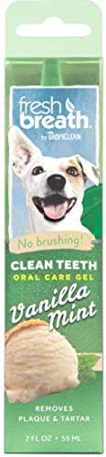TropiClean Fresh Breath Clean Teeth Oral Care Gel 59 ml, 1 ml