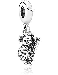 PANDORA Charms Sterling Silver Original Cute Koala Dangle Charm