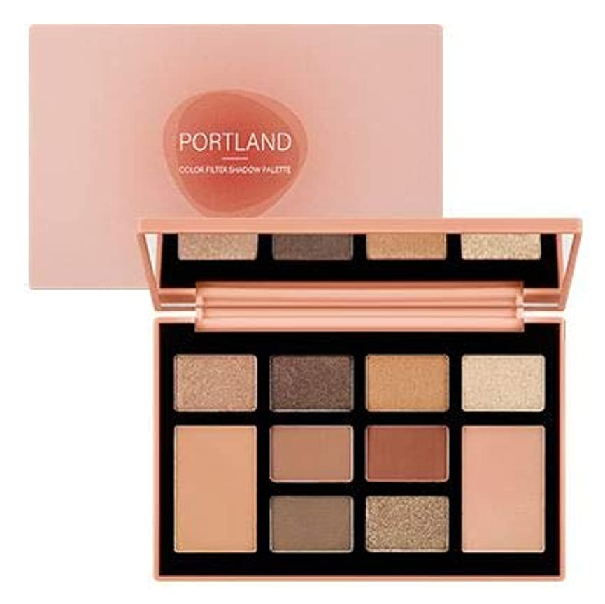 ケントハンカチ麦芽MISSHA COLOR FILTER SHADOW PALETTE #01 PORTLAND FILTER [並行輸入品]