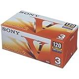 SONY VHSビデオテープスタンダード120分 3巻パック 3T-120VL