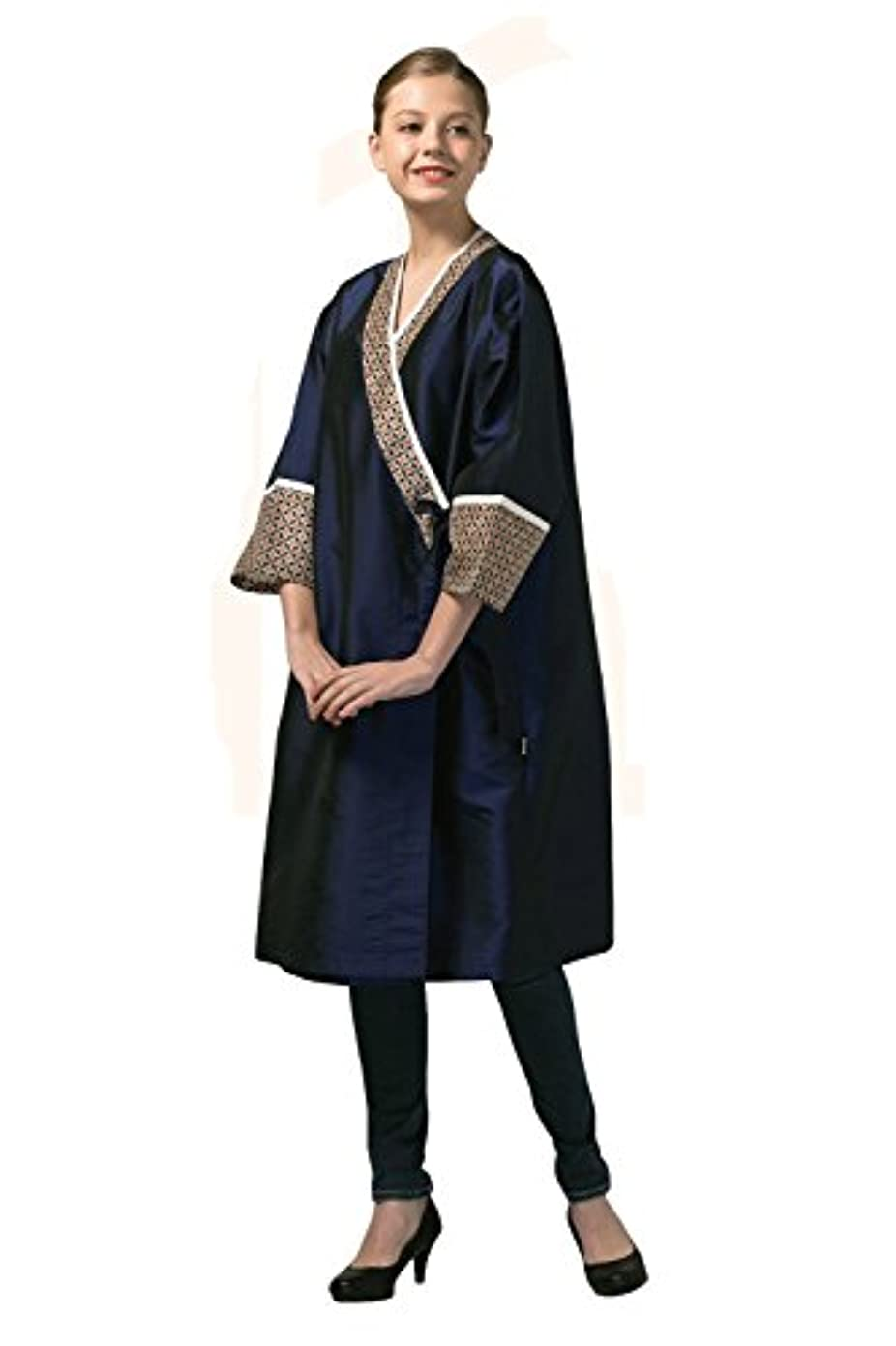 高級 Hair Cutting Gown Hair Cutting Cape Hairdressing Cape サロン 用品 Blue 並行輸入