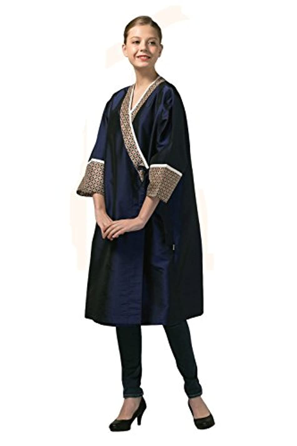 スーツ三番納税者高級 Hair Cutting Gown Hair Cutting Cape Hairdressing Cape サロン 用品 Blue 並行輸入