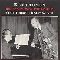 Sonatas for Violin & Piano 1-10