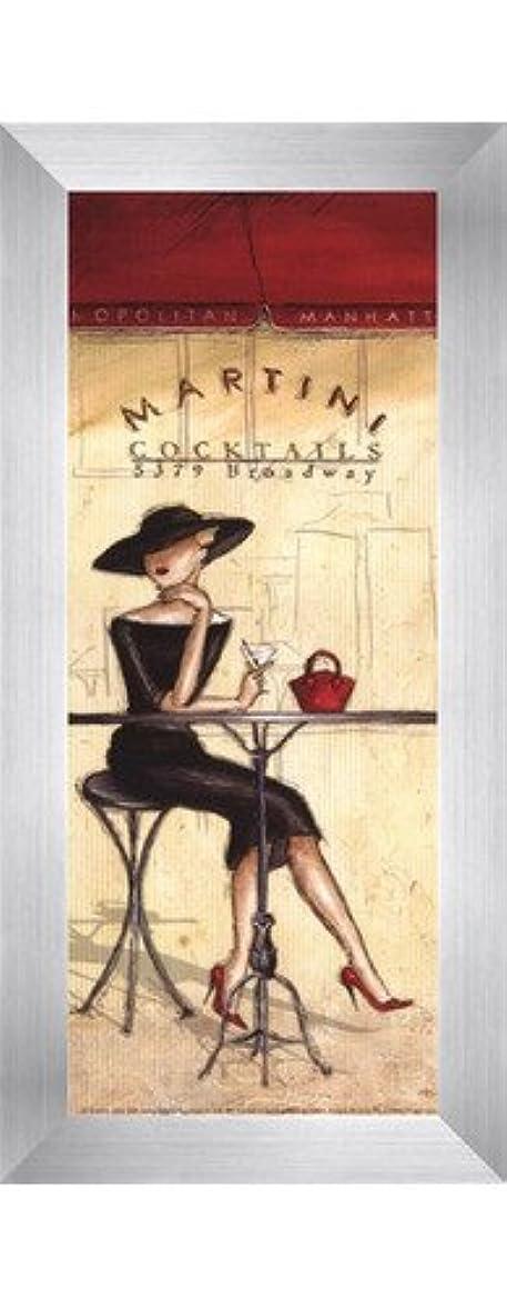 形無能進行中Cocktails – 小柄by Andrea Laliberte – 4 x 10インチ – アートプリントポスター LE_260610-F9935-4x10