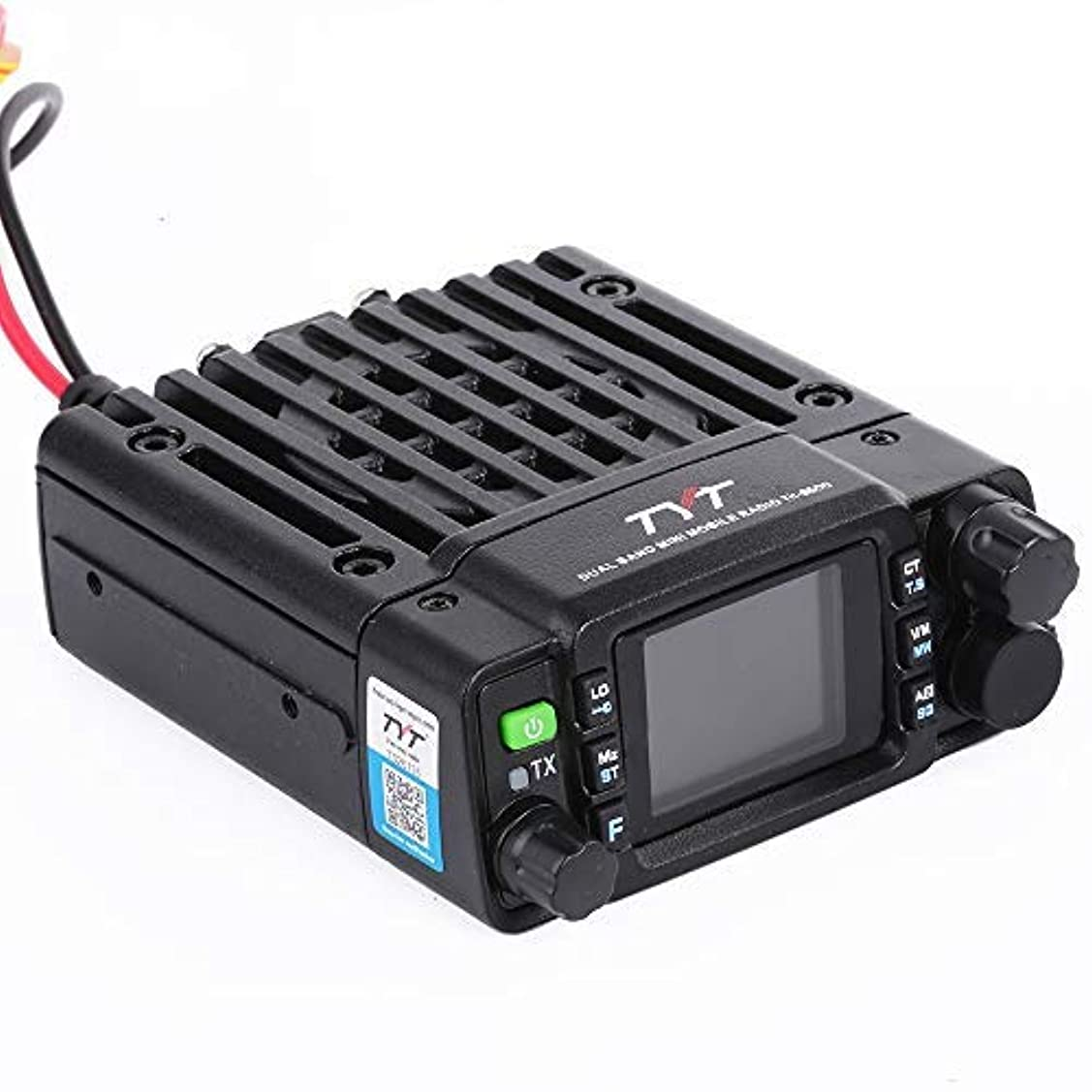 スキャンダラス許す重要な役割を果たす、中心的な手段となるTYT TH-8600 (非IP67バージョン) ミニ25ワット デュアルバンドベース ラジオVHF: 136-174mhz (2m) UHF:400-480mhz (70cm) アマチュアカーモバイルトランシーバー(HAM) フリーケーブル