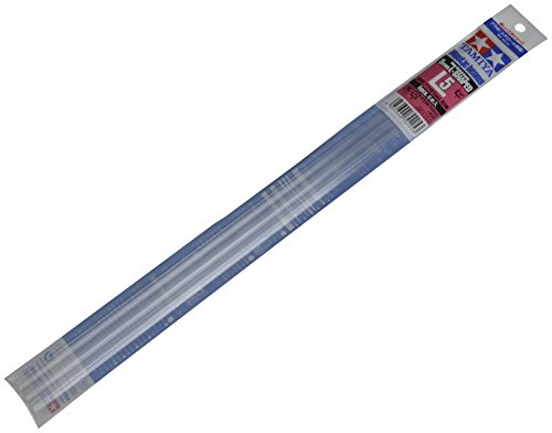 楽しい工作シリーズ No.205 透明プラ材 5mm L棒 70205