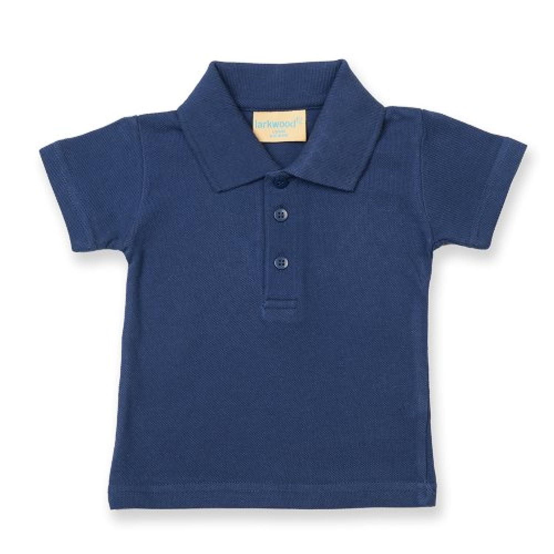 (ラークウッド) Larkwood ベビー?赤ちゃん?キッズ?子供 半袖ポロシャツ トップス (12-18ヶ月) (ネイビー)