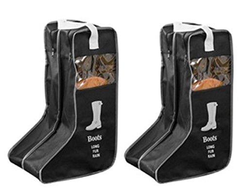 ブーツ収納カバー ロングブーツ/レインブーツ/スノーシューズ 全て対応 マルチ収納ケース 立体 透明...