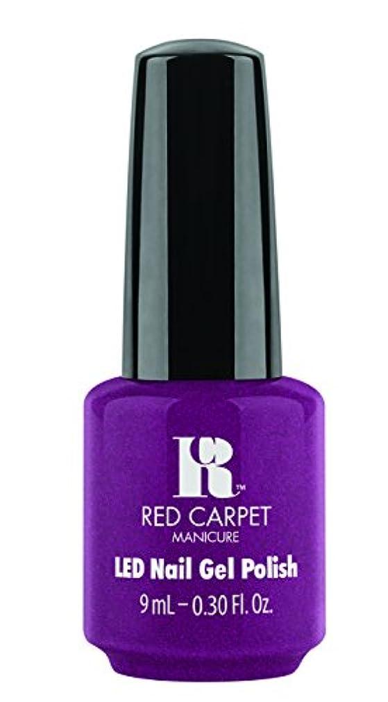 Red Carpet Manicure - LED Nail Gel Polish - 9 Inch Heels - 0.3oz / 9ml