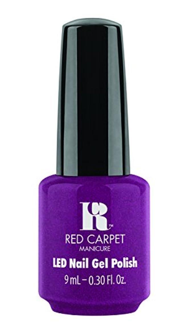 主観的ソートループRed Carpet Manicure - LED Nail Gel Polish - 9 Inch Heels - 0.3oz / 9ml