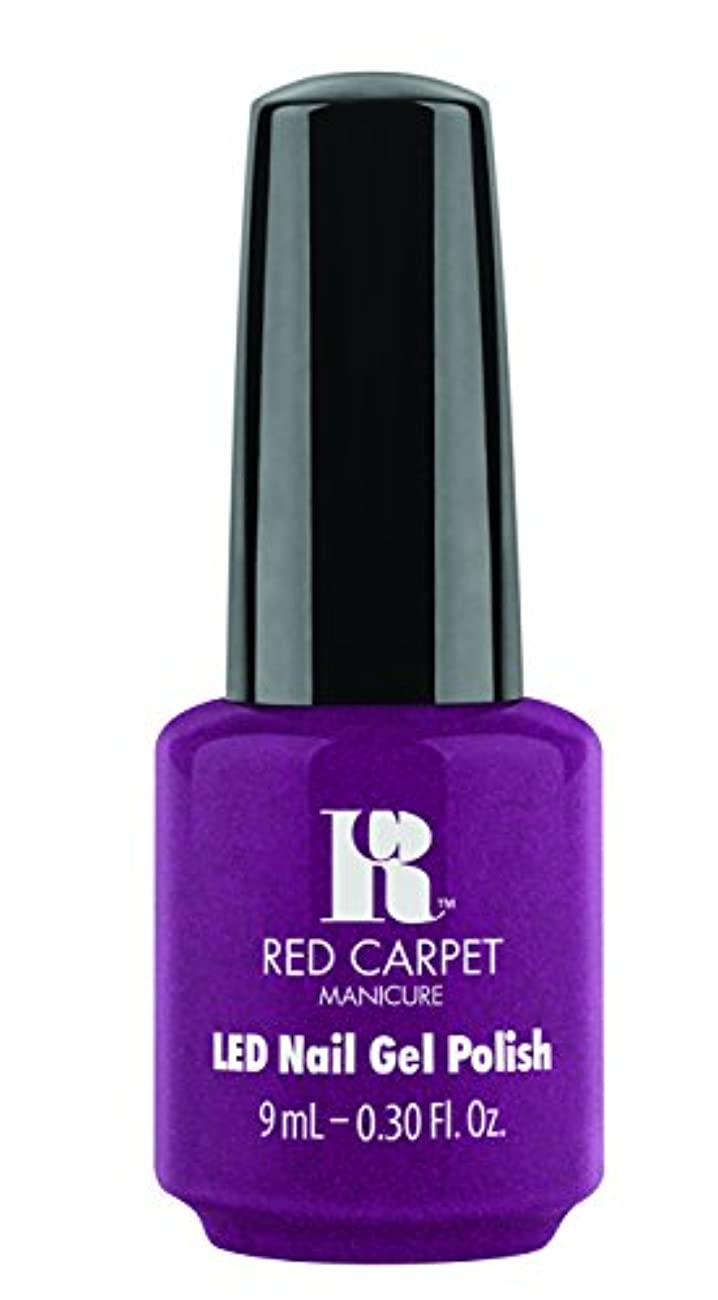 Red Carpet Manicure - LED Nail Gel Polish - 9 Inch Heels - 0.3oz / 9ml
