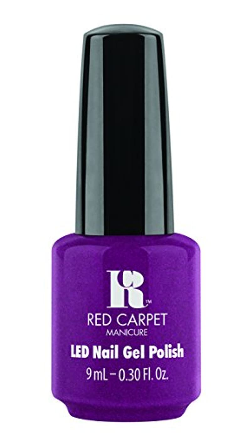 サンダー原稿石油Red Carpet Manicure - LED Nail Gel Polish - 9 Inch Heels - 0.3oz / 9ml