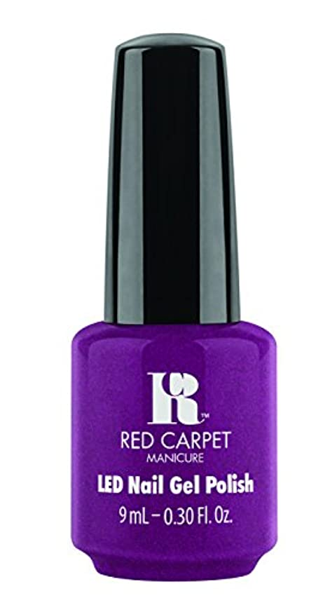 急いで徒歩でカビRed Carpet Manicure - LED Nail Gel Polish - 9 Inch Heels - 0.3oz / 9ml