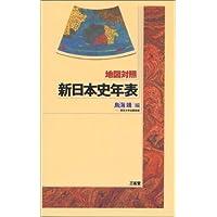 地図対照 新日本史年表