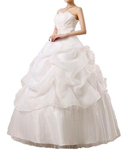 (アンダブル) AnW ウェディング ドレス 二次会 プリンセス ビスチェ 肩 出し ウエディング 結婚式
