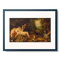 ピーテル・パウル・ルーベンス Peter Paul Rubens 「Diana resting. About 1620」 額装アート作品