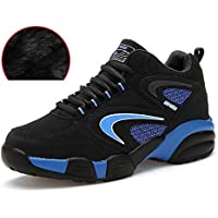 Unisex Plus Velvet Safety Shoes Waterproof Training Shoes Ultra Light Composite Sports Shoes Breathable Lightweight Reflective Work Shoes