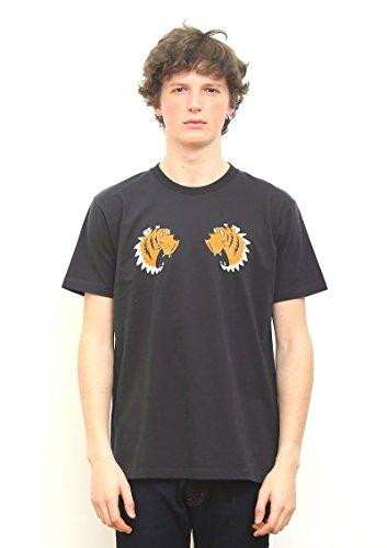 (グラニフ)graniph ベーシックTシャツ / タイガーグラフィック ( スミクロ ) (XL)