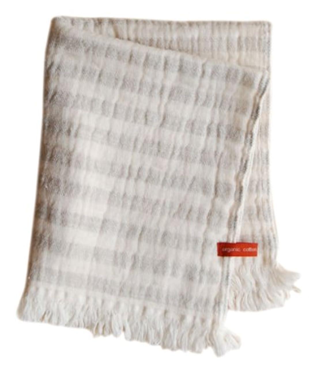 先例シャンプー印象的天衣無縫 スラブガーゼ ウォッシュタオル グレー