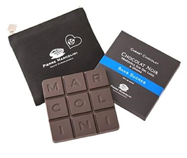コントロールウミウシ計算可能ピエールマルコリーニ チョコレート レ タブレット バレンタイン ホワイトデー (ソン スクレ ノワール)