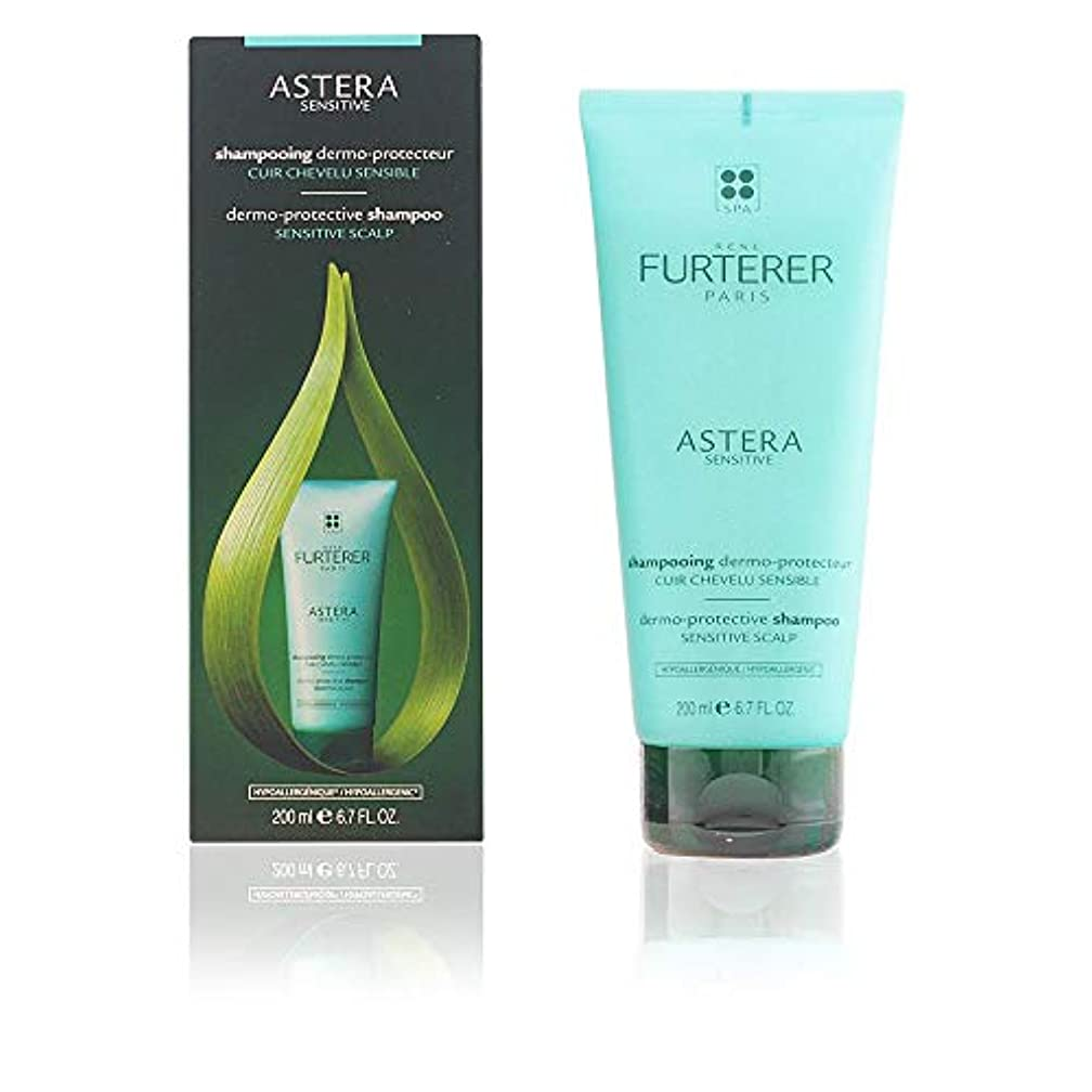 癒す変換因子ルネ フルトレール Astera Senstive Dermo-Protective Shampoo (Sensitive Scalp) 200ml/6.7oz並行輸入品