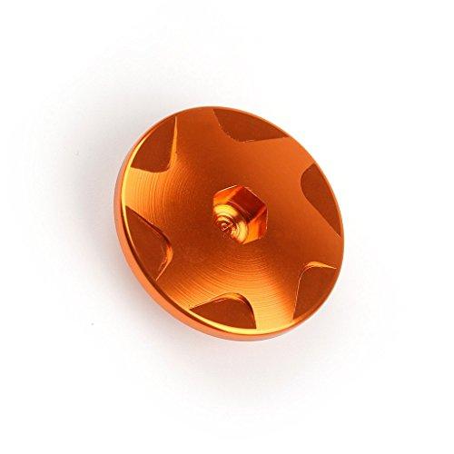 バイク・オートバイ用 エンジン ケース カバー KTM DUKEデューク 125/200/390 用 オレンジ