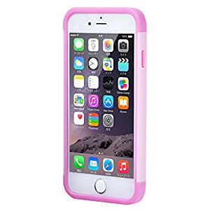 駅の改札やコンビニでピッ ICカードジャケット for iPhone 6(読み取りエラー防止シート同梱) (ピンク)