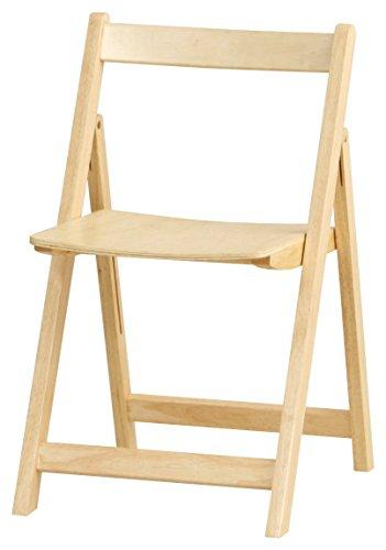 椅子 タイニー チェア 折りたたみ ナチュラル